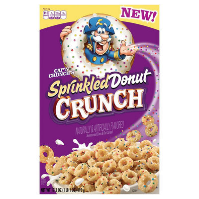 Cap'n Crunch Capn Crunch Sprinkled Donut Crunch 17.3 oz