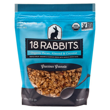 18 Rabbits Organic Pecan, Almond, and Coconut Granola 11 oz