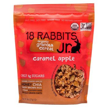 18 Rabbits Jr Organic Caramel Apple Granola 8 oz