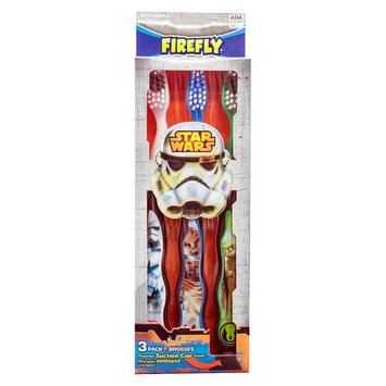 Firefly Kids' Star Wars Toothbrushes 3-pk
