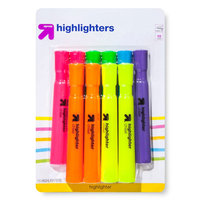 up & up Highlighters in Assorted Colors - 10ct
