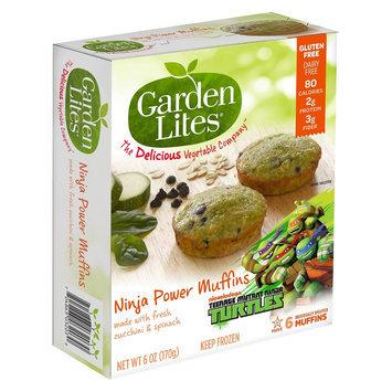 Classic Cooking, Llc Garden Lites Ninja Power Caramel Veggie Muffins 6oz 4pk