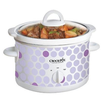 Crock-Pot 2.5 Qt. Manual Slow Cooker - Polka Dot