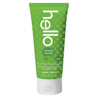 Hello Green Apple Fluoride Toothpaste for Kids