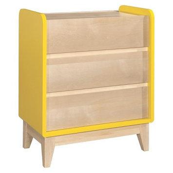 Storkcraft Zutano Tivoli 3-Drawer Dresser-Sunny and Natural