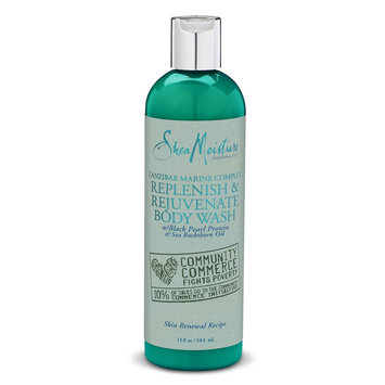 SheaMoisture Zanzibar Marine Complex Replenish & Rejuvenate Body Wash