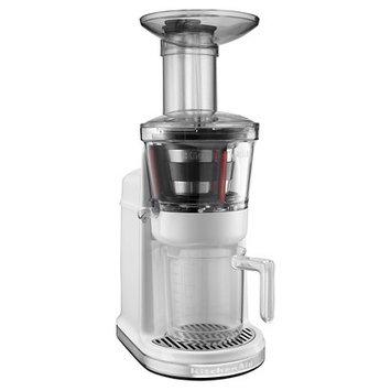 KitchenAid Maximum Extraction Juicer (slow juicer)- White KVJ0111