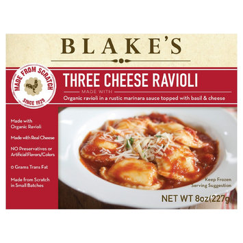 Conagra Foods Blakes Three Cheese Ravioli 8oz