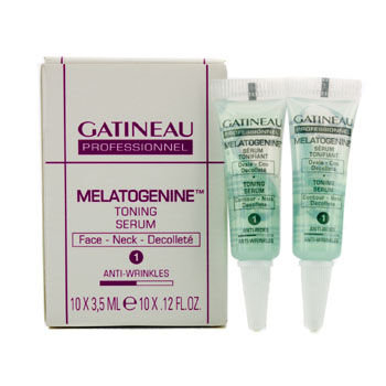 Gatineau Melatogenine Toning Serum - Face & Neck (Salon Size) 10x3.5ml/0.12oz