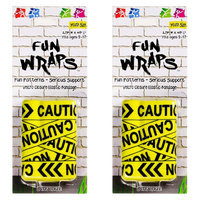BSI Products Inc. 00103 Fun Wraps-Caution Pattern
