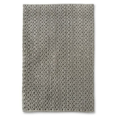 Threshold Rug Gray Texture 30x48