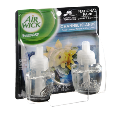 Air Wick National Park Limited Edition Scented Oil Channel Islands - 2 CT