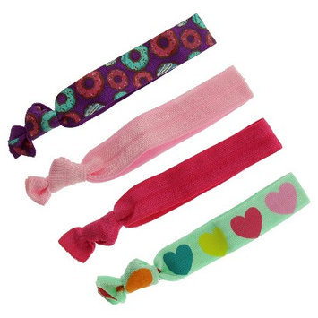 Joyen Enterprise Co., Ltd. Girls' 4-Pack Hair Elastics