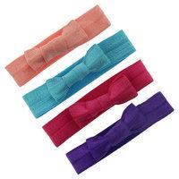 Joyen Enterprise Co., Ltd. Girls' 4-Pack Bow Hair Elastics