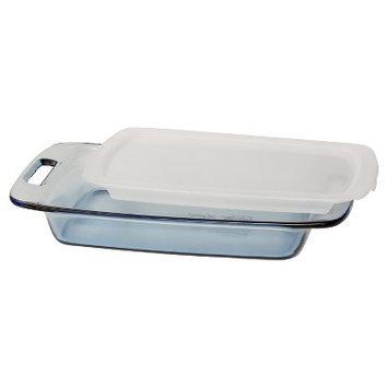 Pyrex - Tinted Glass Bakeware - 3 Quart Atlantic - Lidded