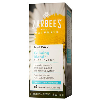 Zarbee's Naturals Lemon Mint Calming Blend Powder - 5 Count
