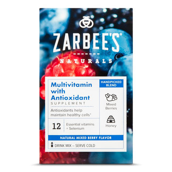 Zarbee's Naturals Mixed Berry Multivitamin with Antioxidant Powder - 10 Count