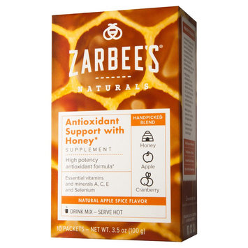 Zarbee's Naturals Apple Spice Antioxidant Support Powder - 10 Count