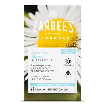 Zarbee's Naturals Lemon Mint Calming Blend Powder - 10 Count