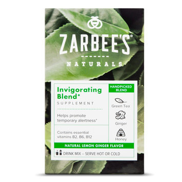 Zarbee's Naturals Lemon Ginger Invigorating Blend Powder - 10 Count