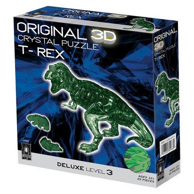 Bepuzzled 3D Crystal Puzzle T Rex