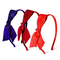 Fantasia Accessories Girls' 3-Pack Bow Headbands