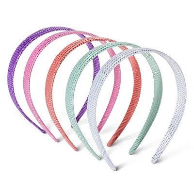 Fantasia Accessories Girls' 5-Pack Headbands