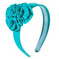 Fantasia Accessories Girls' Flower Headband - Turquoise