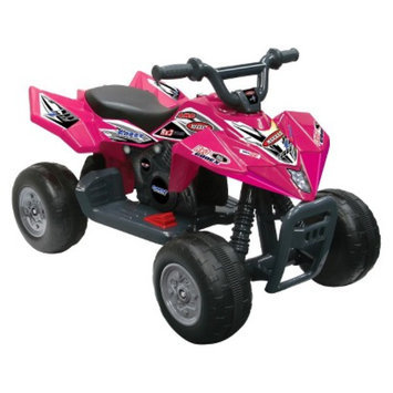 National Products LTD. Kid Motorz Quad Racer 6V Ride On - Pink