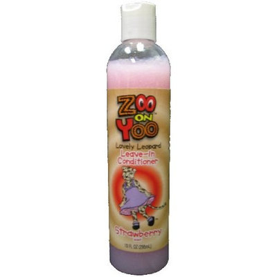 Zoo On Yoo Lovely Leopard Kid's Leave-In Conditioner - Strawberry 10 Oz