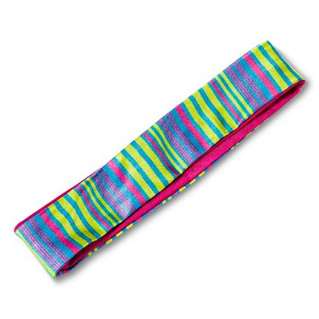 Fantasia Accessories Girls' Striped No-Slip Grip Headband