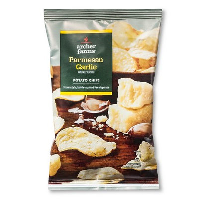 Archer Farms AF Parmesan & Garlic Kettle Chip 1.5 Oz