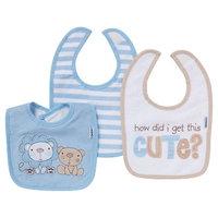 Gerber Newborn Boys' 4 Pack Burp Cloth Set