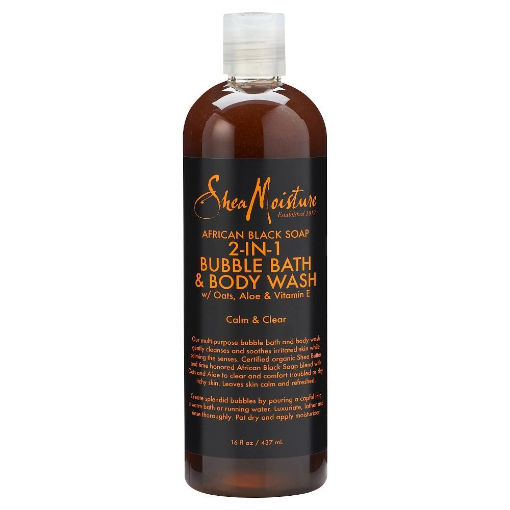 SheaMoisture African Black Soap 2-in-1 Bubble Bath & Body Wash