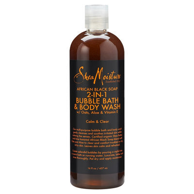 SheaMoisture African Black Soap 2-in-1 Bubble Bath & Body Wash