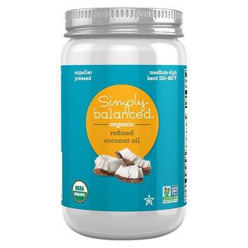 Simply Balanced Refined Coconut Oil 14 oz