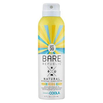 Bare Republic SPF 30 Kids Mineral Sunscreen Spray