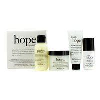 Philosophy Hope for the Best Coffret: Cleasner, Mositurizer, Eye Cream, Hand Cream