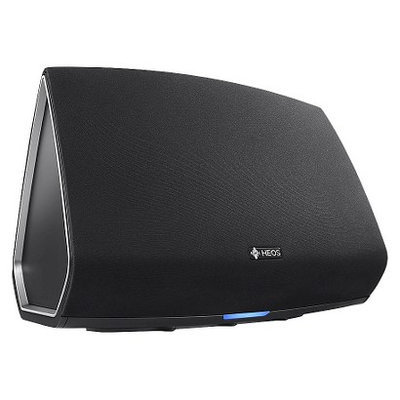 Denon Wireless Speaker with Built-In-Amplification - Black (HEOS5)
