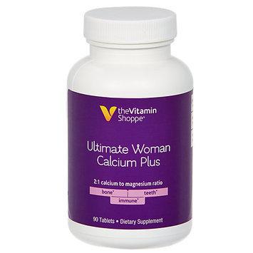 Vitamin Shoppe Ultimate Woman Calcium Plus - 90 Tablets - Calcium Combinations