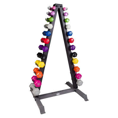GDR24-VPACK Vinyl Dumbbell Rack Package