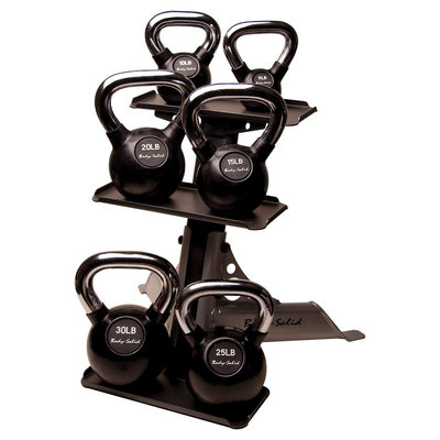 Body-solid Premium Kettle Bell Set 5-30 lbs.