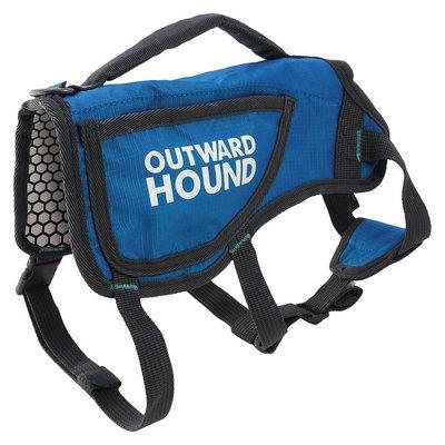 Kyjen Company Inc Pet Apparel Coat Outward Hound S Blue