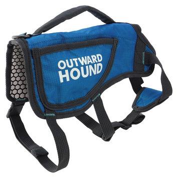 Kyjen Company Inc Pet Apparel Coat Outward Hound XL Blue