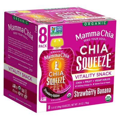 Mamma Chia Strawberry Banana 8 Pk