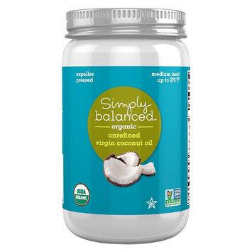 Simply Balanced Coconut Oil Unrefined
