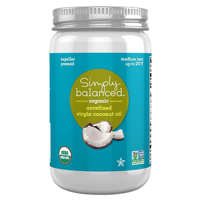 Simply Balanced Coconut Oil Unrefined