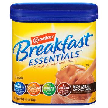 Carnation Breakfast Essentials Complete Nutritional Drink Rich Milk Chocolate