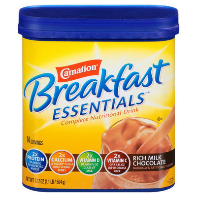 Nestlé Carnation Breakfast Essentials Complete Nutritional Drink 17.7 oz
