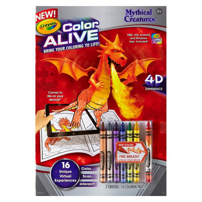 Crayola Color Alive - Mythical Creatures